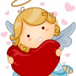 Angel Heart - Stock Vector