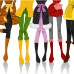 Winter Clothes — Stock Vector #2576417