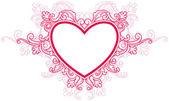 Heart Frame — Stock Vector