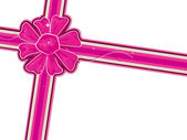 Pink Ribbon — Stock Vector
