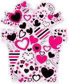 Valentine Gift — Stock Vector