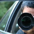 Paparazzi Hiding - Stock Photo
