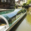 Canal in strasbourg — Stock Photo