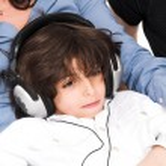 Listening to music — Stock Photo #2348533