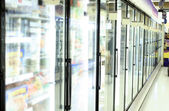 Kruidenier en supermarkt — Stockfoto