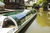 Canal en estrasburgo — Foto de Stock