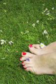 Happy feet — Stock Photo
