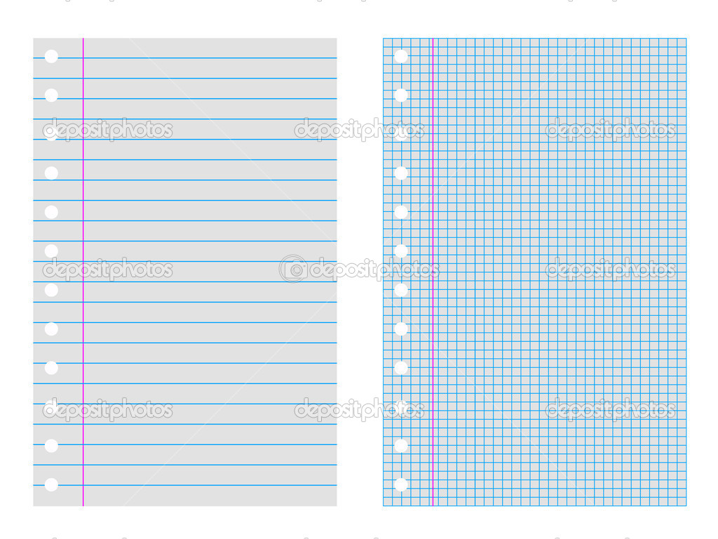 Best Photos of Printable Notebook Pages - Free Printable Lined ...