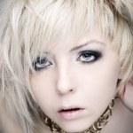 Glamour blond woman — Stock Photo #2332279