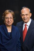 Senior Asian couple — Stock Photo