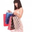 Shopping sexy woman — Stock Photo #2336386