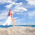 A beautiful girl on the beach — Stock Photo #2336430