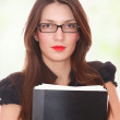 Portrait of a attractive business woman. — Stock Photo #2342408