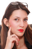 Portrait attractive business woman. — Stock Photo