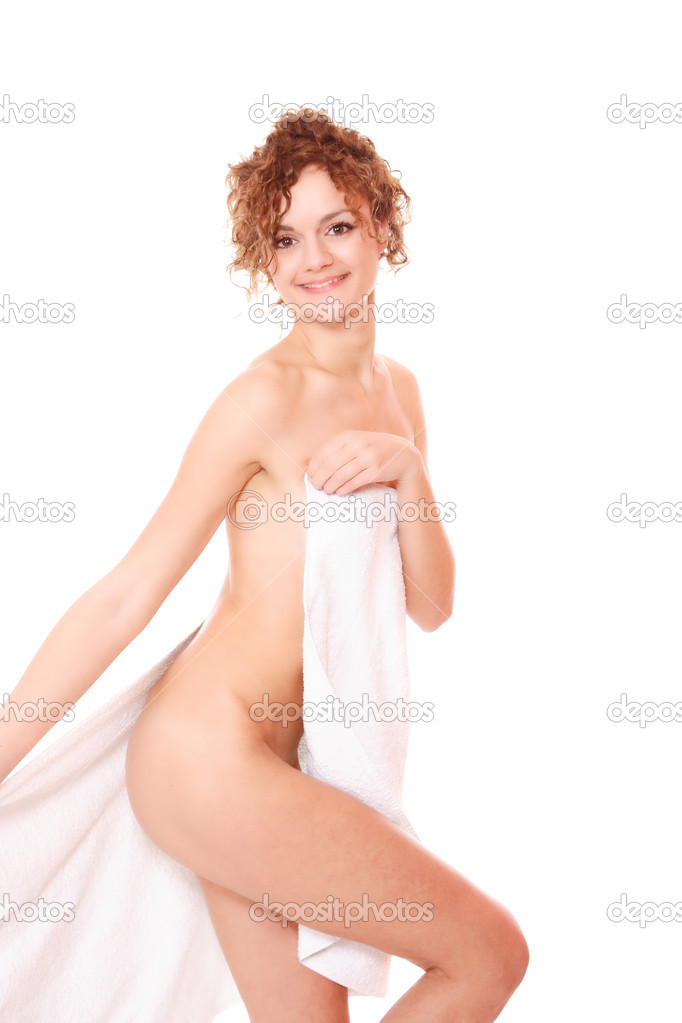 Beautiful young woman in towel - health and beauty — Stock Photo #2341275