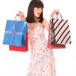 Shopping pretty woman — Stock Photo #2351412