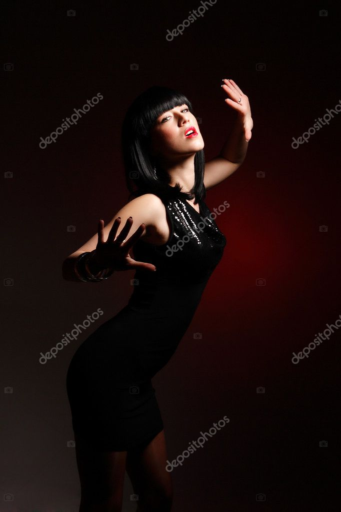 Fashion style photo of a beautiful young lady — Stock Photo #2352015