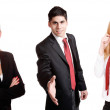Young attractive business — Stock Photo