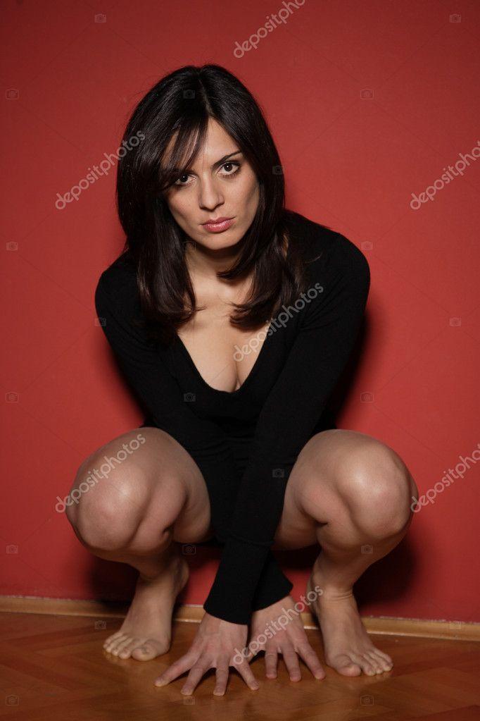 Sexy women in short dress — Stock Photo © netfalls -2426427