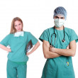 Doctor with stethoscope — Stock Photo #2608937