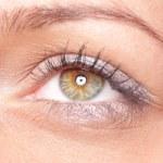 Beautiful woman eyes — Stock Photo