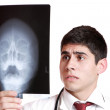 Caucasian mid adult male doctor — Stock Photo #2670259