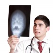 Caucasian mid adult male doctor — Stock Photo #2676938