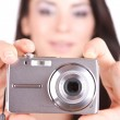 Woman talking a picture — Stock Photo #2677739
