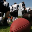 American football team — Foto de Stock