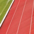 Detail of an athletic track — Stock Photo #2377038