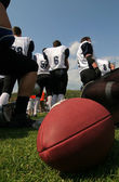 American football team — Stock Photo