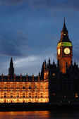 The Parliament, the Big Ben — Stock Photo