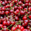 Sweet cherry in pile — Stock Photo