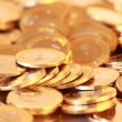 Stock Photo: Group of gold coins