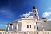 Bílý kostel — Stock fotografie