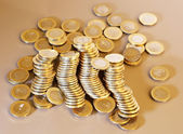 Gold coins — Stock Photo