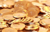 Group of gold coins — Stock Photo