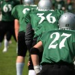 American football team - Stock Photo
