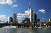 Cityscape of Frankfurt — Stock Photo