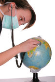 Heal the world — Stock Photo