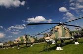 Vojenský vrtulník — Stock fotografie