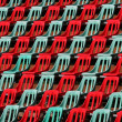 Stock Photo: Seats in stadium