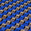 Seats in stadium — Stock Photo #2688037