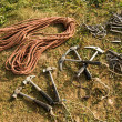 Climber equipment — Stock Photo