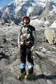 Mountaineer portrait — Stock Photo