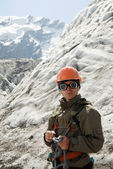 Young mountaineer — Stock Photo