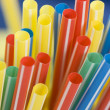 Bunch of drinking straws — Stock Photo #2342546