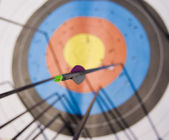 Arrow tail — Stock Photo