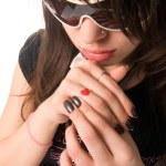 Portrait of a teenage girl — Stock Photo #2351097