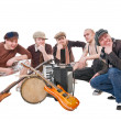 Cool musicians — Stock Photo